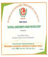 National Achievement Award